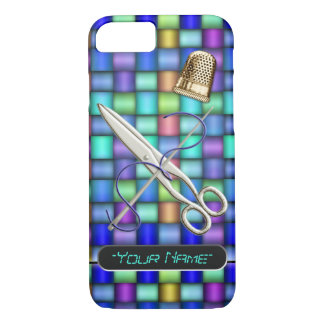 Sew What? - Personalized iPhone 7 Case