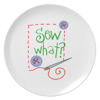 Sew What? Plate