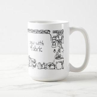 Sew With Fabric Mug