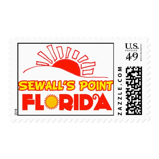 Sewall's Point, Florida Postage Stamp