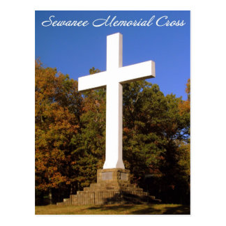 Sewanee Memorial Cross, TN Post Card
