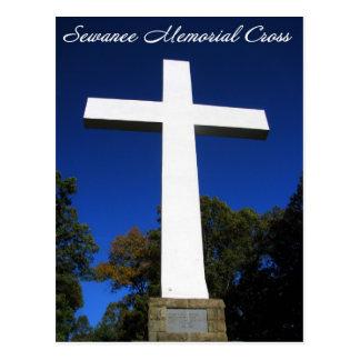 Sewanee, TN Memorial Cross Postcard