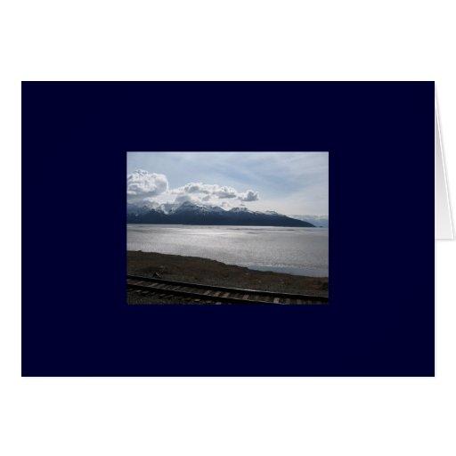 Seward a la tarjeta del tren de Anchorage