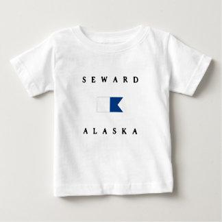 Seward Alaska Alpha Dive Flag Tee Shirt