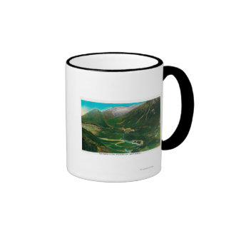 Seward, Alaska Area Famous Railroad Loop Coffee Mugs