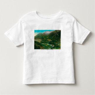 Seward, Alaska Area Famous Railroad Loop Toddler T-shirt