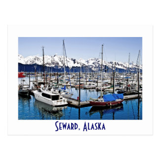 Seward, Alaska, los E.E.U.U. Postales