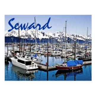 Seward, Alaska, los E.E.U.U. Tarjetas Postales