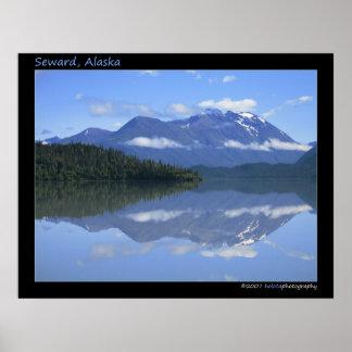 Seward, Alaska - Reflection #001 Poster