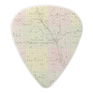 Seward County, Nebraska Acetal Guitar Pick