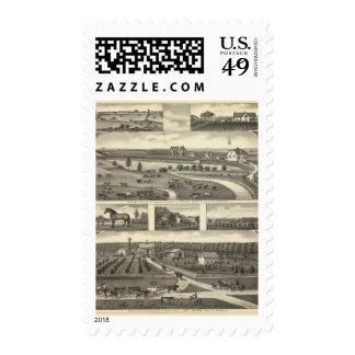 Seward Farms, Nebraska Stamp