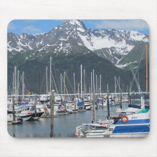 Seward Harbor, Alaska Mouse Pad