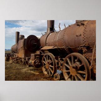 Seward Peninsula, Alaska, Train to Nowhere Poster