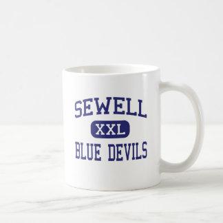 Sewell Blue Devils Middle Bremen Georgia Coffee Mugs