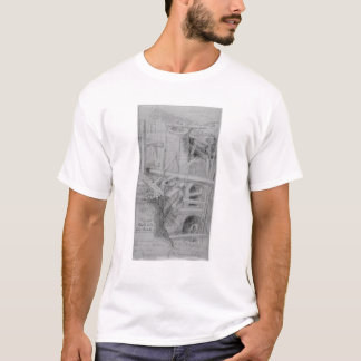 Sewer construction in Bloomsbury, London, 1845 T-Shirt