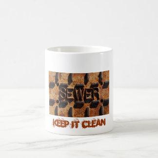 Sewer-Keep It Clean Coffee Mug