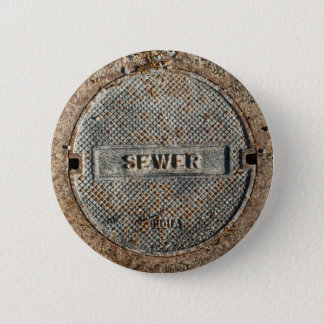 Sewer Manhole Cover Button