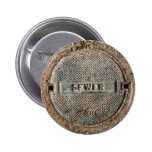Sewer Manhole Cover Buttons
