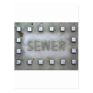 Sewer Postcard