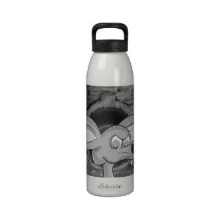 Sewer Rat Cartoon Reusable Water Bottle