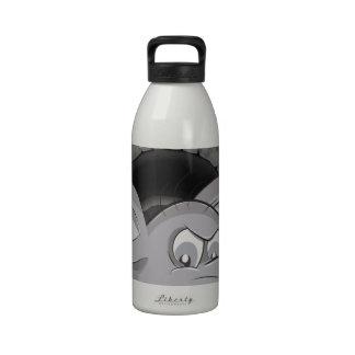 Sewer Rat Cartoon Water Bottles