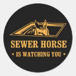 SewerHorse2 Sticker