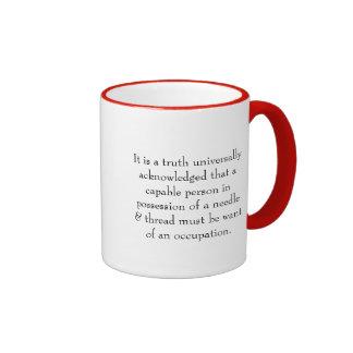Sewers, dressmakers, crafters, mug