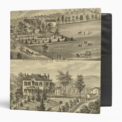 "Sewickley Pennsylvania Carpeta 1 1/2"""