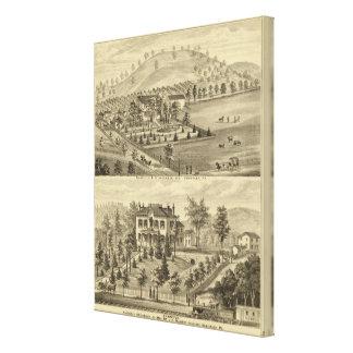 Sewickley Pennsylvania Impresion En Lona