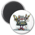 Sewing 2 Inch Round Magnet