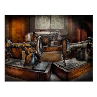 Sewing - A Chorus of Three Postcard