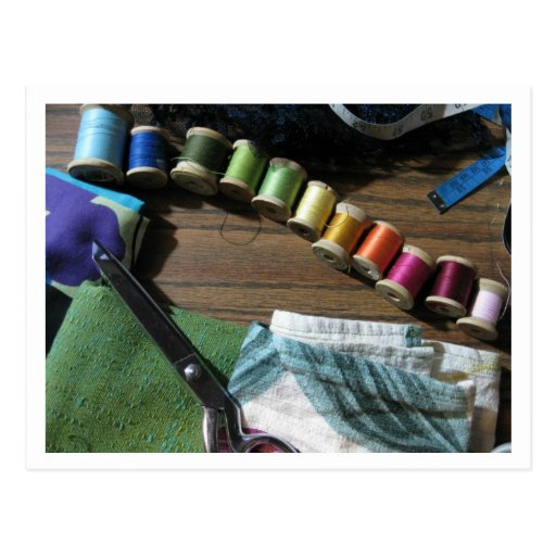 Sewing A Rainbow Post Cards