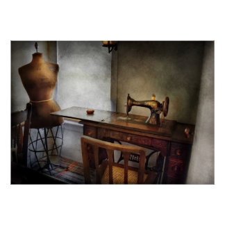 Sewing - A tailors life Print