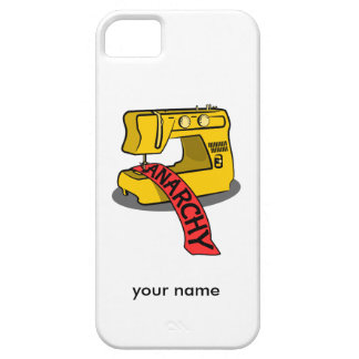 Sewing anarchy zazzle.png iPhone SE/5/5s case
