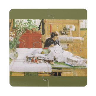 Sewing and Mending Puzzle Coaster