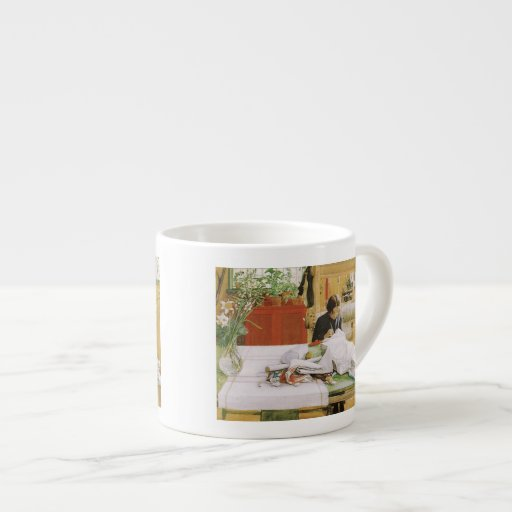 Sewing and Mending Espresso Mugs
