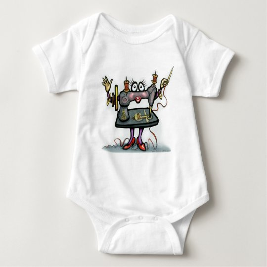 Sewing Baby Bodysuit
