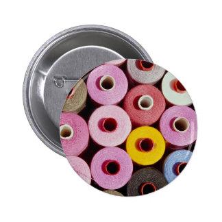 Sewing bobbins pinback buttons