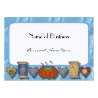 Sewing Business, Personal Card Large Business Card