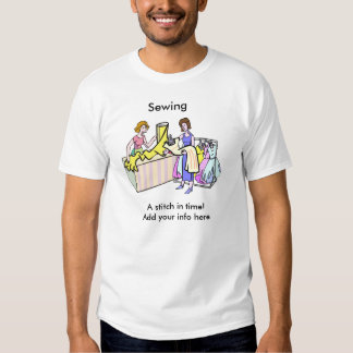 Sewing Business Tee Shirt