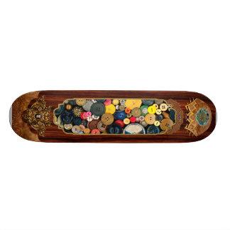 Sewing - Buttons - Bunch of Buttons Skateboard Deck