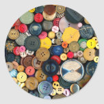 Sewing - Buttons - Bunch of Buttons Sticker