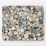 Sewing - Buttons - Lots of white buttons Mousepad
