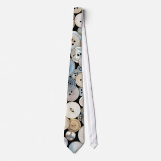 Sewing - Buttons - Lots of white buttons Neck Tie