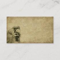 Sewing By Seat Of Pants- Prim Biz Card