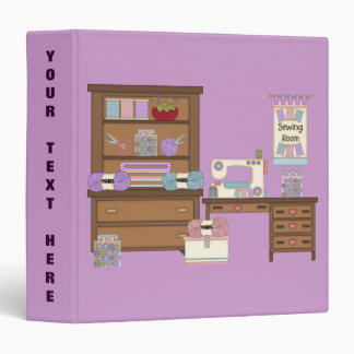 Sewing Cabinet 2 (Personalized) Binder
