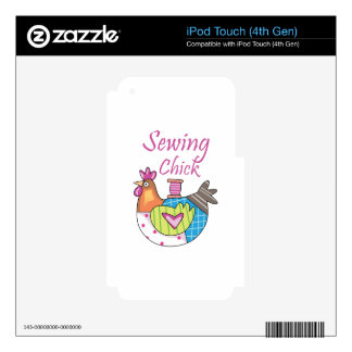 Sewing Chick iPod Touch 4G Skin
