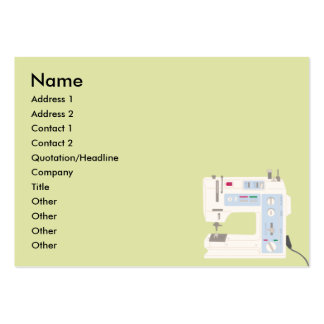 Sewing - Chubby Business Card Templates