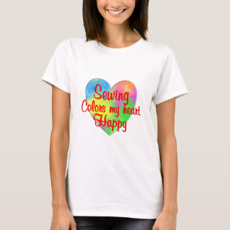 Sewing Colors My Heart Happy T-Shirt