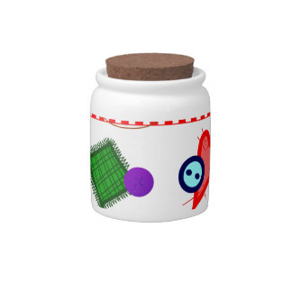 Sewing & Crafts Candy Dishes